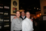 Nov 2011 Class Event at LaGrange Aurellio's: Ross Barnard, owner (HF 69); Todd Brunst; Steve Barnard